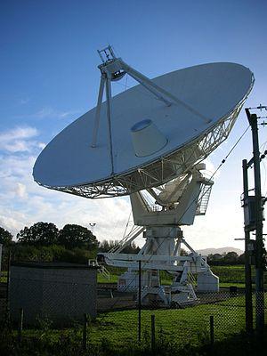MERLIN - The radio telescope at Knockin