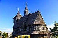 Kościół św. Katarzyny i Matki Bożej Różańcowej w Rybniku-Wielopolu 1.JPG