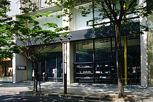 Fendi - Fendi boutique in Kobe, Hyogo prefecture, Japan
