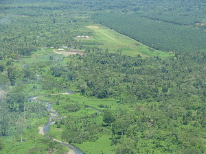 Airlines PNG Flight 4684 - Kokoda Airstrip, the destination airport, pictured in 2008