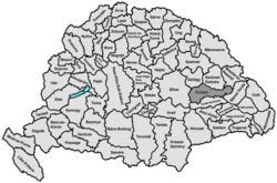 Location of Kolozs