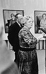 Koningin Juliana en prins Bernhard tijdens het dankwoord van de koningin op de , Bestanddeelnr 930-5546.jpg