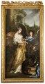 Konung Karl XIs uppfostran. Allegori (David Klöcker Ehrenstrahl) - Nationalmuseum - 174860.tif