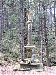 Sloup se sochou svatého Antonína