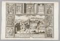 Kopparstick på kyrkan St. Maria del Populo i Rom, 1600-tal - Skoklosters slott - 99725.tif