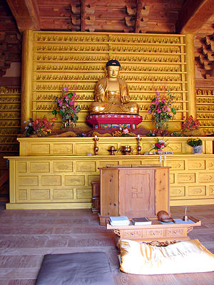Geumdangsa - Image: Korea Jinan Geumdangsa 3689 07 Seated Buddha