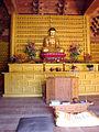 Korea-Jinan-Geumdangsa 3689-07 Seated Buddha.JPG