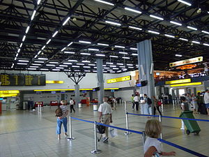 Corfu International Airport - Check-in at Corfu Airport