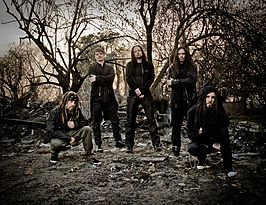 V.l.n.r.: Reginald Arvizu, Ray Luzier, Jonathan Davis, James Shaffer, Brian Welch.