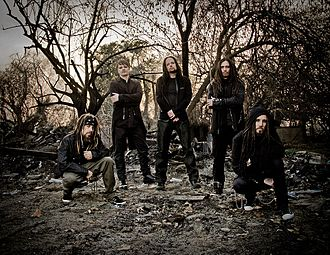 Nu metal - Korn (pictured) helped launch nu metal into the mainstream.