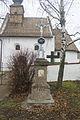 Kostel všech svatých, Přeskače 03 - kříž.jpg
