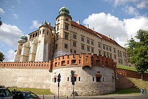 Districts of Kraków - Wawel castle