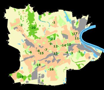 Krefeld Karte.Krefeld Wikipedia
