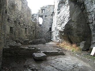 Kropfenstein Castle - Interior of Kropfenstein Castle