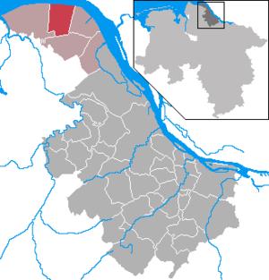 Krummendeich - Image: Krummendeich in STD
