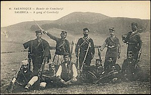 Kruševo Republic - Voivodas from the Internal Macedonian Revolutionary Organisation in Kruševo, 1903