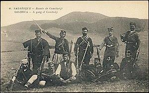 Kruševo Republic - Voivodas from the Internal Macedonian Revolutionary Organisation in Kruševo, 1903