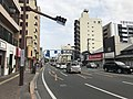 Kumamoto Prefectural Road No.1 near Fujisakigu-mae Station.jpg