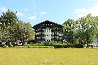 Ernst Röhm - Hotel Lederer am See (former Hanselbauer Hotel) in Bad Wiessee before its planned demolition in 2017