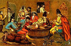 Music of Hungary - Kuruc tárogató, c. 1700