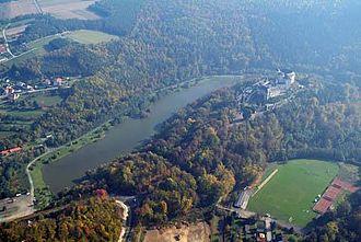 Lockenhaus - Image: Léka légifotó3