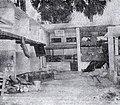 Léopoldville riots damage.jpg