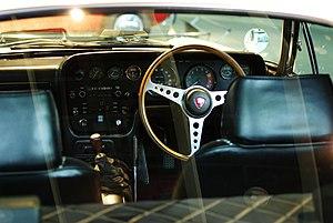 Mazda Cosmo - Series II L10B interior