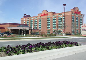 La Frontera (Round Rock, Texas) - Image: LF Marriott