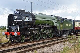 LNER Peppercorn Class A1 60163 <i>Tornado</i> British steam locomotive built in 2008