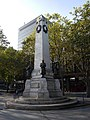 LNWR War Memorial, Euston - south and east elevations 01.jpg