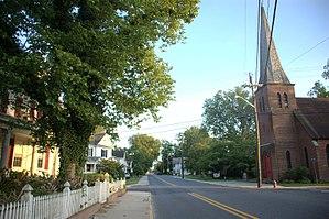 Laurel Historic District - Image: LR Walls Laurel Hist Distric, St.Phillips 6th Street