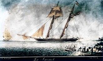 La Amistad - Image: La Amistad (ship) restored