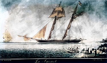 USS Washington and La Amistad La Amistad (ship) restored.jpg