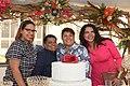 La Asociación Silueta X fue testigo del primer matrimonio entre personas del mismo sexo en Ecuador, María Chávez y Michelle Avilés su testigo la activista Diane Rodríguez.jpg