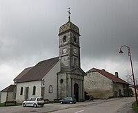 La Chaux-du-Dombief - église.JPG