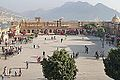 La cour principale du fort d'Amber (Rajasthan) (8490833214).jpg