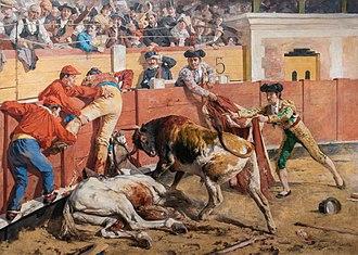 Arturo Michelena - Image: La vara rota 1892 by Arturo Michelena