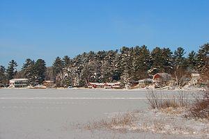 Lac-du-Cerf, Quebec - Image: Lac du Cerf QC 1