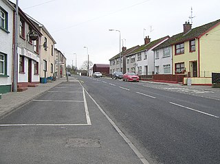 Lack, County Fermanagh village in United Kingdom