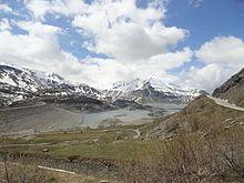 Lago del moncenisio wikipedia for Cabine del lago vuoto
