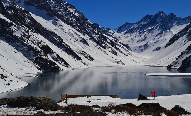 Lugares para esquiar perto de Santiago