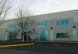 Laika's headquarters in Hillsboro, Oregon