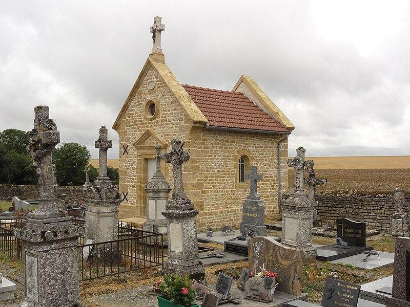 Laix (Meurthe-et-M.) chapelle du cimetière
