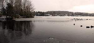 Lake Echo, Nova Scotia - Image: Lake Echo Dec 2008 2