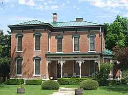 The Lambert-Parent House, a historic house in the community