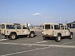"""Land Rover Defender """"Mission Vigipirate"""", aéroport de Strasbourg 2019 02.jpg"""