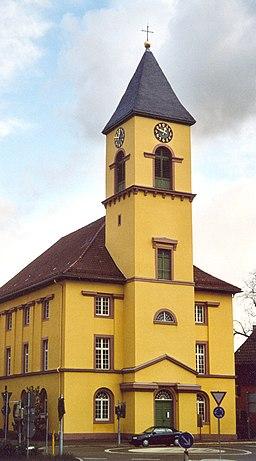 Langensteinbach Kirche im Weinbrenner Stil