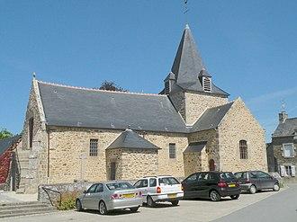 Langrolay-sur-Rance - The church of Saint-Laurent