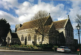 Langton Matravers - Image: Langton Matravers, parish church of St. George geograph.org.uk 452371