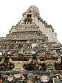 Lascar Detail of the elaborated central prang - Wat Arun (4509142495).jpg